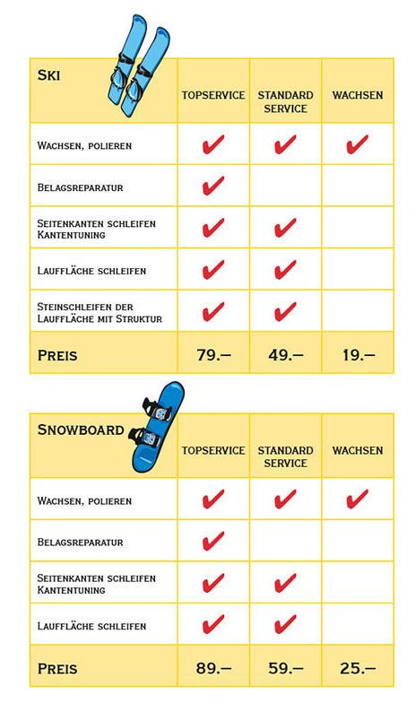 pricelist winterer